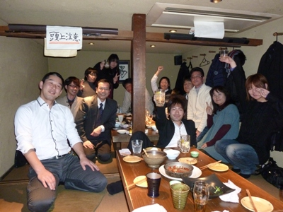 2012岐阜営業所納会
