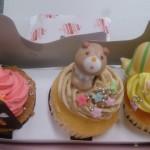 賞品のカップケーキ