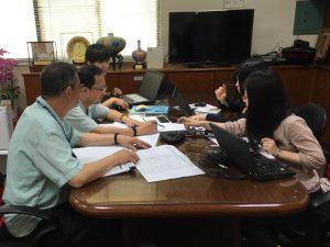 台湾の企業へiJIT導入中